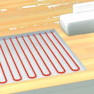 Incalzire electrica in pardoseala - Cablu incalzitor T2Red