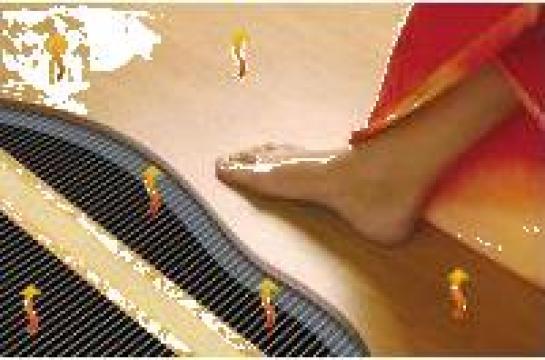 Incalzire in pardoseala cu infrarosii