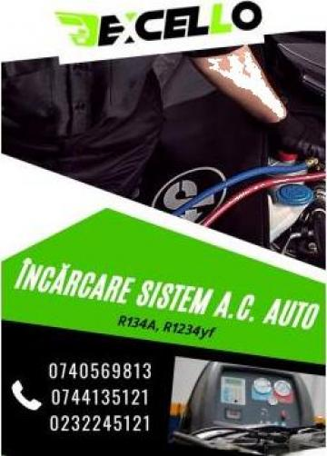 Incarcare sistem A.C./freon auto