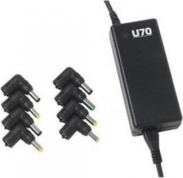 Incarcator universal pentru laptop Infosec U70