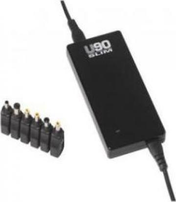Incarcator universal pentru laptop Infosec U90 Slim