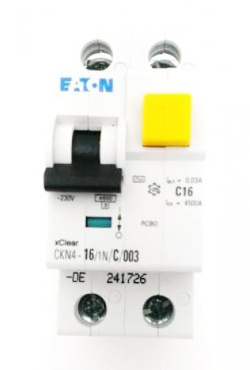 Intrerupator automat diferential 1P+N, 16A