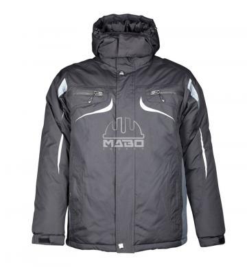 Jacheta de iarna Philip negru gri