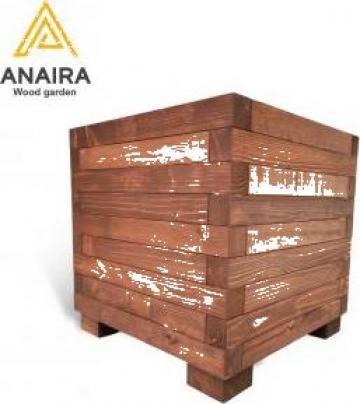 Jardiniera lemn masiv