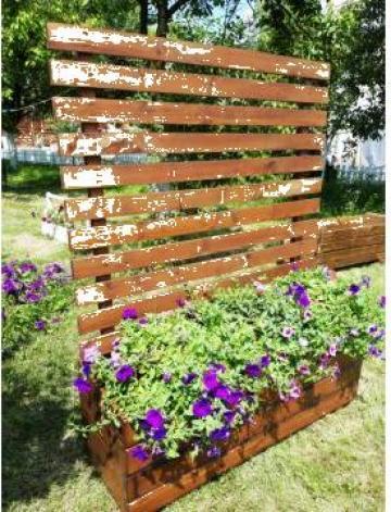 Jardiniere lemn masiv