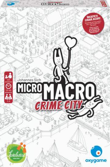 Joc de societate MicroMacro: Crime City