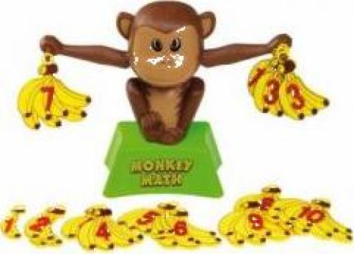Joc educativ - Maimuta invata matematica