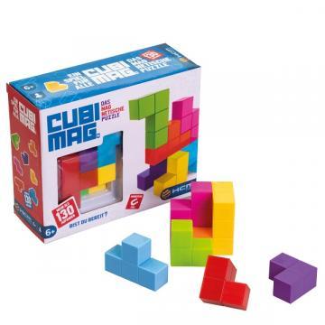 Joc educativ puzzle 3D magnetic, Cubimag