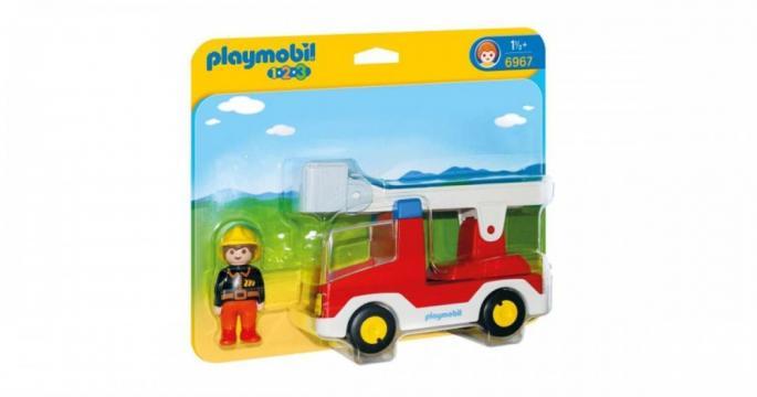 Jucarie Camion cu pompier 6967 Playmobil