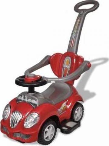 Jucarie masina pentru copii, cu impingere, rosu