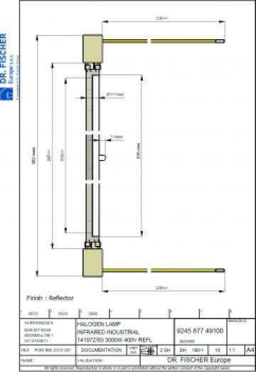 Lampa 14107z/98 Philips/Dr Fischer