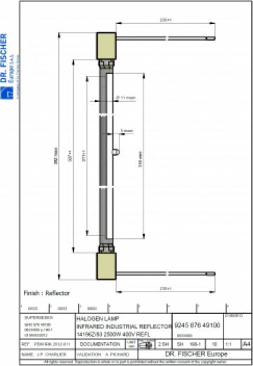 Lampa Dr.Fischer / Philips 14196Z / 83