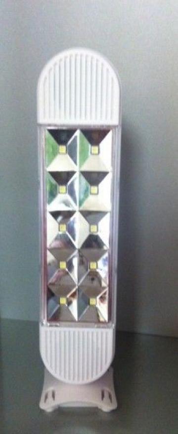 Lampa portabila cu LED si Radio FM Kingblaze GD-1011