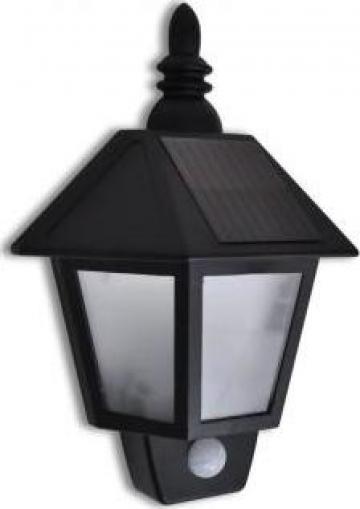 Lampa solara de perete cu senzori miscare