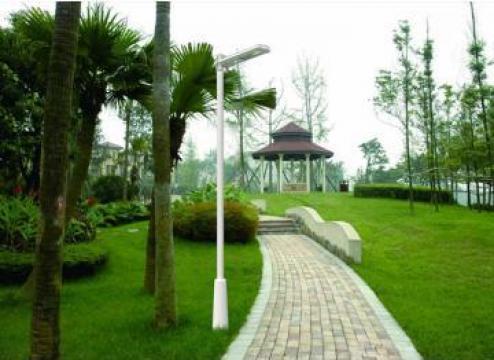 Lampa solara pentru iluminat gradini, parcuri