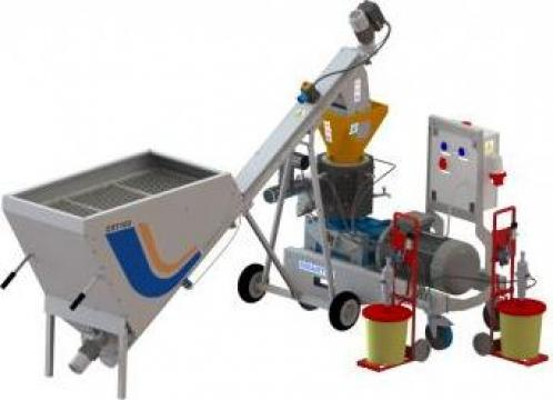 Linie productie peleti PLT-400 Start-up