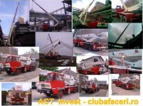 Lucrari industriale de constructii si instalatii inclusiv re