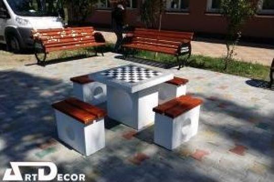 Masa de sah/table pentru parcuri/gradini