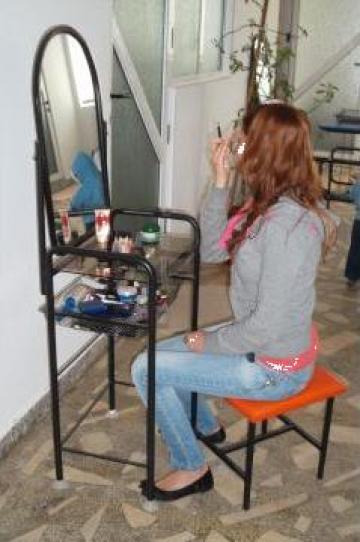 Masa pentru machiaj cu oglinda Samir