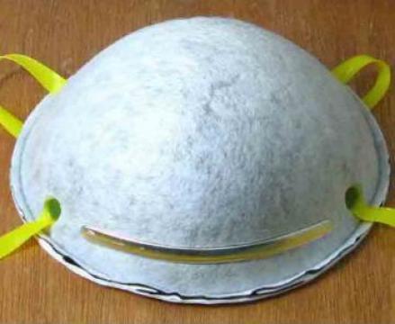 Masca cu carbon activ FFP2 respirator P2