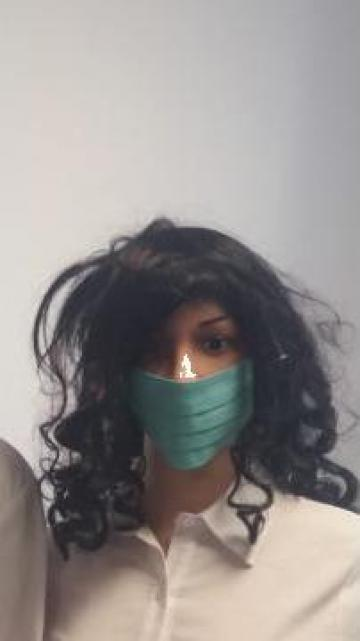 Masca de protectie bumbac 100%