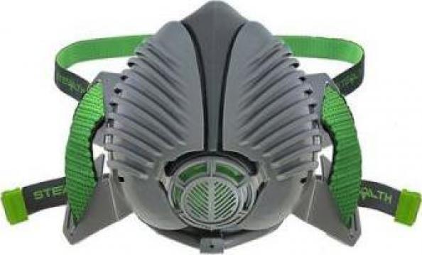 Masca de protectie respiratorie cu 1 set filtre Hepac P3