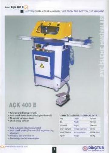 Masina complet automata tamplarie PVC