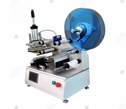 Masina de etichetat suprafete plane, semi-automata, LP-LMT-1