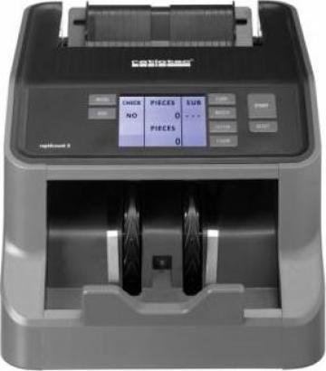 Masina de numarat bancnote Ratiotec Rapidcount S200