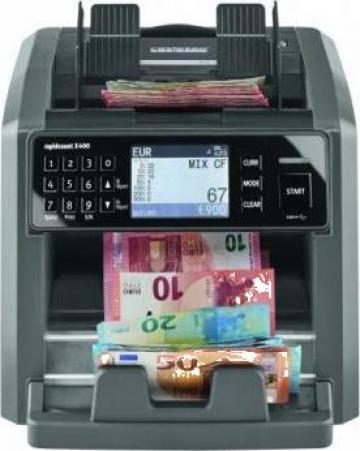 Masina de numarat bancnote Ratiotec Rapidcount X400