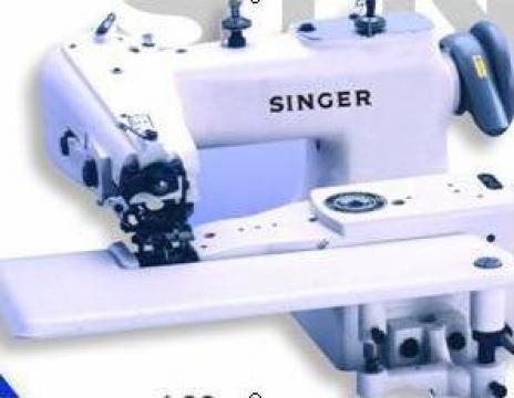 Masina industriala de cusut ascuns Singer 6-SS