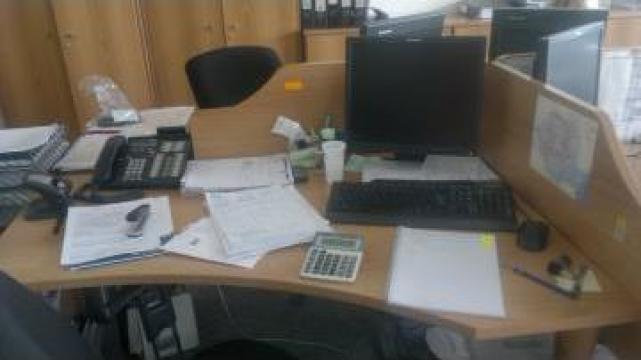 Mobilier ansamblu patru birouri Office Neoset