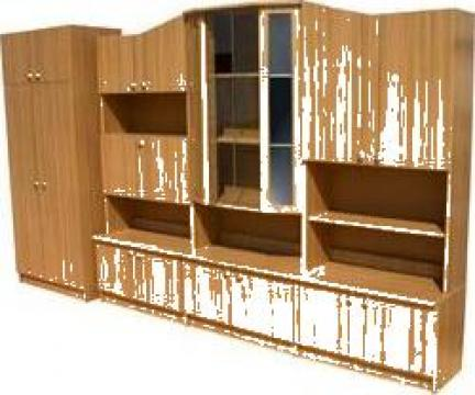 Mobilier biblioteca - sufragerie