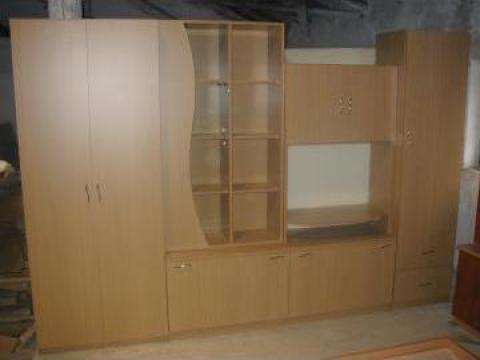 Mobilier de zi biblioteca din PAL melaminat