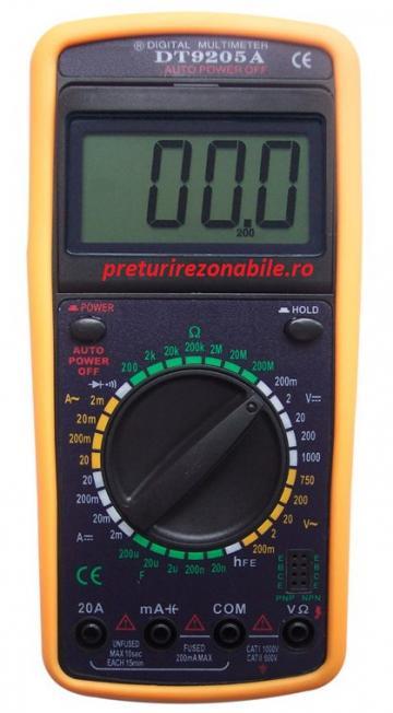 Multimetru digital DT 9205A