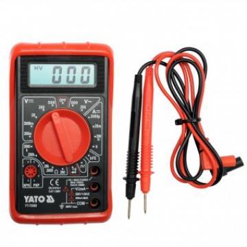 Multimetru digital Yato YT-73080, 0-500V, 5 A