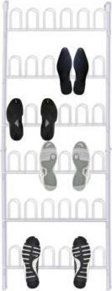 Organizator pantofi vertical pentru 18 perechi