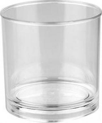 Pahar pentru whisky policarbonat 250ml