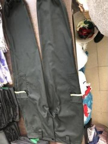 Pantalon de paza cu detaliu galben