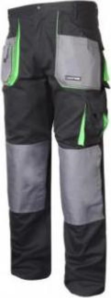 Pantalon lucru gros bumbac inchis