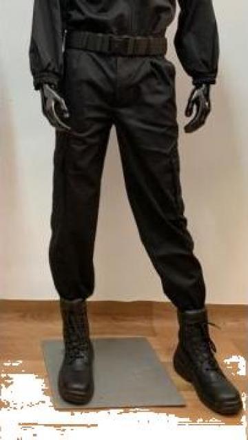 Pantaloni agent paza negru