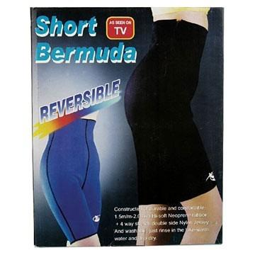 Pantaloni fitness de neopren Short Bermuda