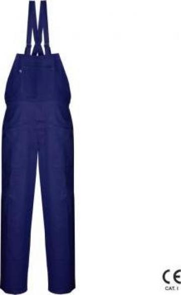 Pantaloni protectie 101 cu pieptar