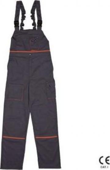Pantaloni protectie cu pieptar Vezina PP