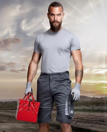 Pantaloni scurti de lucru Summer gri inchis - Ardon