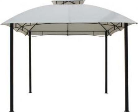 Pavilion, cort gradina Raki 3x3m cadru metalic bej