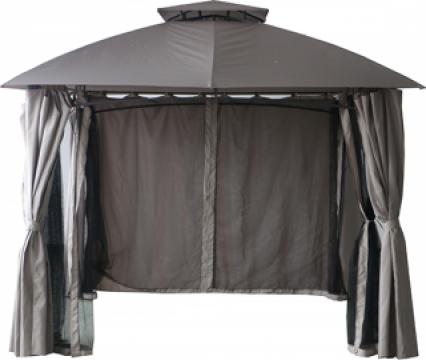Pavilion, cort gradina Raki 3x3m cadru metalic cu pereti
