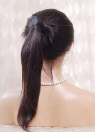 Peruca full lace Wig #1b 45 cm