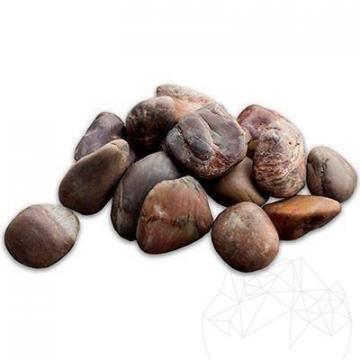 Piatra naturala ornamentala Pebble Brown Polished Sac 20 kg
