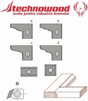 Placute amovibile pentru set usite 3 freze G3